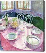 La Table De Fernande Acrylic Print