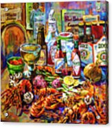 La Table De Fruits De Mer Acrylic Print