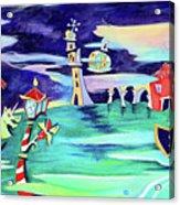 La Tempesta - Grand Canal Palace Acrylic Print