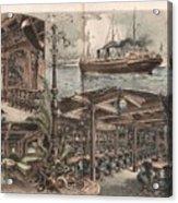 La Touraine New York Acrylic Print