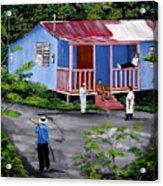 La Vida En Las Montanas De Moca Acrylic Print