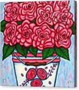 La Vie En Rose Acrylic Print