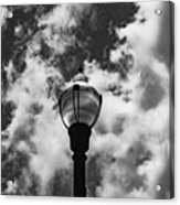 Lamp In The Clouds Acrylic Print