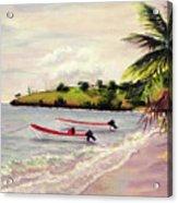 Laborie Beach  Acrylic Print