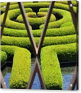 Labyrinth At The Getty Acrylic Print