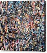 Labyrinth Of Sorrows Acrylic Print
