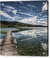 Lac Saint-point Acrylic Print
