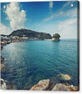 Lacco Ameno Harbour ,  Ischia Island Acrylic Print