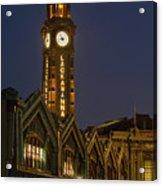 Lackawanna Clock Tower Acrylic Print
