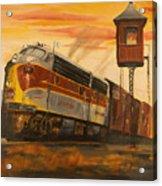Lackawanna Fast Freight Acrylic Print