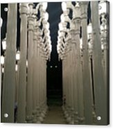 Lacma Lights 8 Acrylic Print