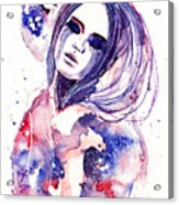 Lacrima Nebula  Acrylic Print by Alexandra-Emily Kokova