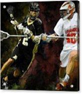 Lacrosse Close D #2 Acrylic Print