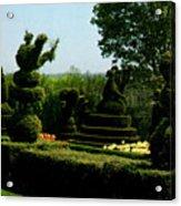 Ladew Topiary Gardens Acrylic Print