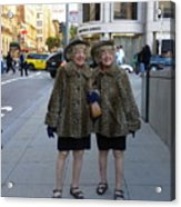 Ladies From San Francisco Acrylic Print