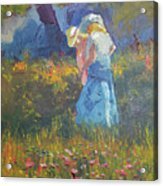 Ladies In The Woods Acrylic Print