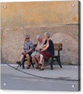 Ladies Of Monterrosa Acrylic Print