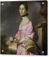 Lady Anstruther Acrylic Print