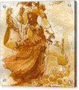Lady Bonney Acrylic Print by Brian Kesinger