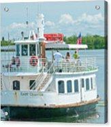 Lady Chadwick Boat - Cabbage Key Island, Florida Acrylic Print