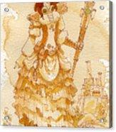 Lady Codex Acrylic Print by Brian Kesinger