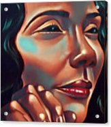 Lady Coretta Acrylic Print