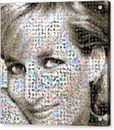 Lady D Acrylic Print