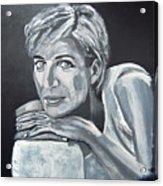 Lady Di Acrylic Print
