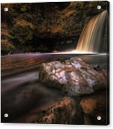 Lady Falls Waterfall Country Acrylic Print