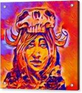 Lady Gaga Acrylic Print