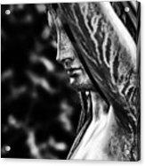 Lady In The Garden 1 Acrylic Print