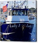 Lady J Acrylic Print
