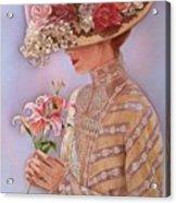 Lady Jessica Acrylic Print by Sue Halstenberg