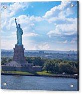 Lady Liberty Ny Harbor Acrylic Print