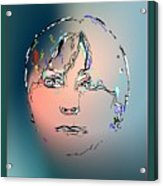 Lady M Acrylic Print