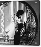 Lady Acrylic Print