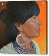 Lady Of Sapa Acrylic Print