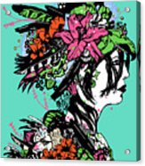 Lady Of The Garden Acrylic Print