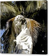 Lady Of The Palms Acrylic Print