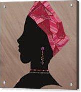 Lady Pink Acrylic Print