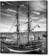 Lady Washington In Black And White Acrylic Print
