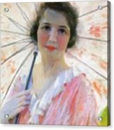 Lady With A Parasol 1921 Acrylic Print