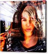 Lady X Acrylic Print