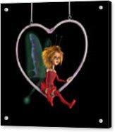 Laerinu The Love Fairy  Acrylic Print