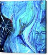 Laeyfe Becomes The Aurora Acrylic Print