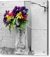 Lafayette No One Bouquet Acrylic Print