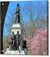 Lafayette Square Named For General Marquis Gilbert De Lafayette Acrylic Print