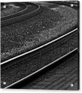 Lafayette Tracks Acrylic Print