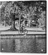 Lafreniere Park 3 - Bw Acrylic Print