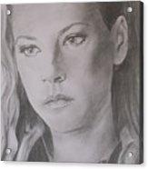 Lagertha Acrylic Print